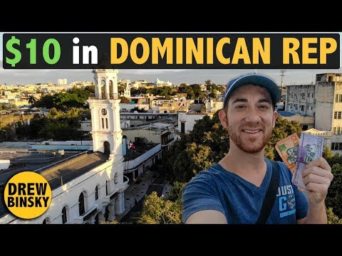 $10 CHALLENGE in DOMINICAN REPUBLIC 🇩🇴