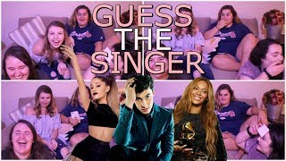 GUESS THE SINGER!!