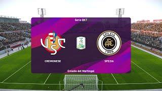 PES 2020   Cremonese vs Spezia - Serie B   24/07/2020   1080p 60FPS