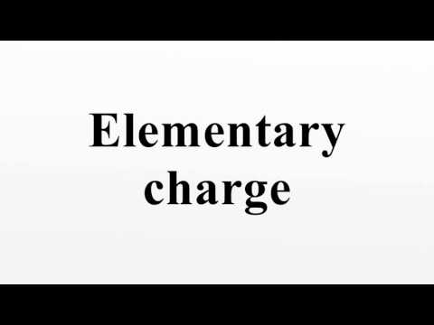 Elementary charge