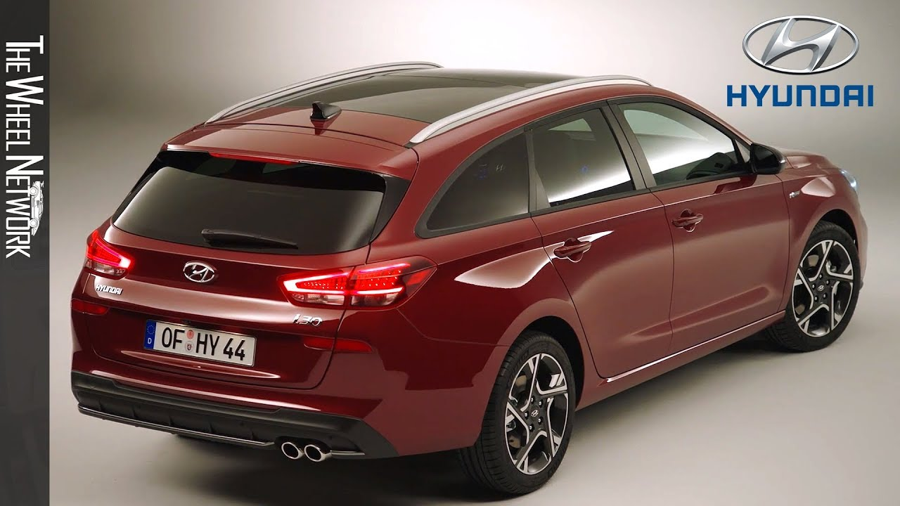 the new hyundai i30 n line wagon 2020 facelift youtube