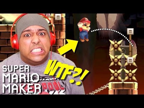 OKAY Y'ALL CAN'T BE SERIOUS WITH THIS SH**!! [SUPER MARIO MAKER] [#170]