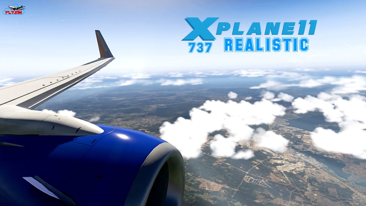 Real as it Gets Southwest Airlines B737-800 Landing l X-Plane 11