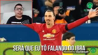 React rabiola (c/ Ibra , lewa , Messi , cr7 ) (futparodias)