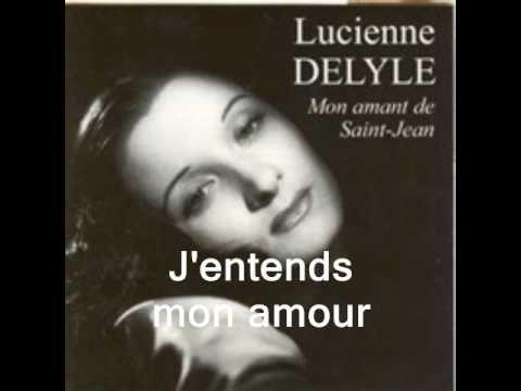 Jentends mon amourpar Lucienne Delyle