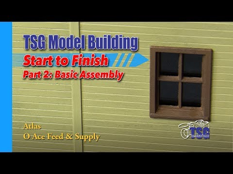 O Scale Atlas Feed Store Model Building 2 of 8 MBSTF