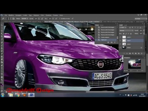 fiat tipo 2015 virtual tuning photoshop youtube. Black Bedroom Furniture Sets. Home Design Ideas