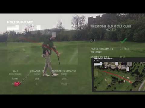 Demonstration of Shot Scope V2 Performance Tracking System
