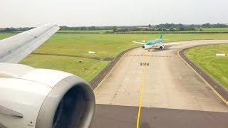 Air Explore (Ryanair) Boeing 737-400 OM-CEX Landing at Dublin Airport