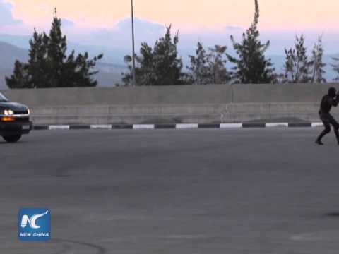 RAW: Palestinian journalists experience security camp lives