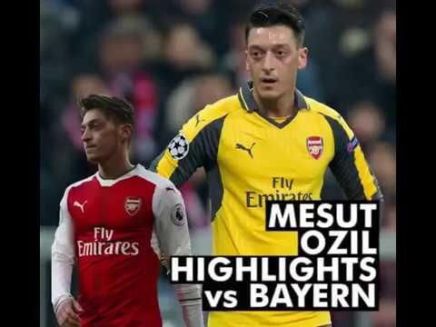 Mesut Ozil Highlights vs Bayern Munchen!