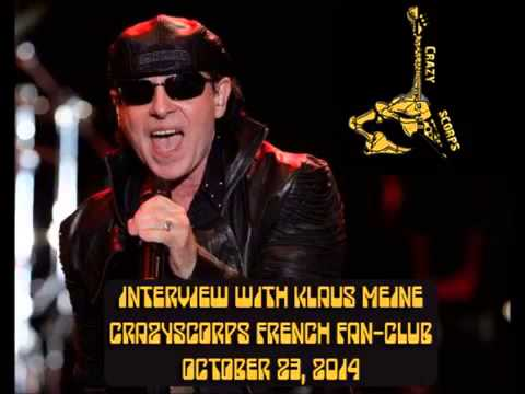 Scorpions   Klaus Meine Interview for Crazyscorps   YouTube