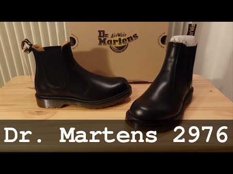 48083c2ffa5 Dr. Martens 2976 | Black Smooth Booties - YouTube