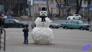 Злой Снеговик Пранк Нальчик Галерея Scary Snowman