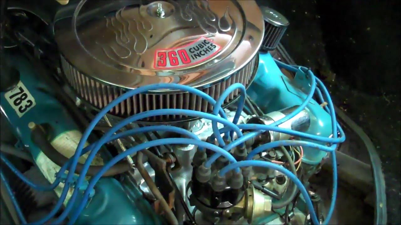 1978 Dodge Rv Restore 7 Carb Rebuild Intake Manifold Gasket Hoses 1976 Sportsman Wiring Diagram And Belts Youtube