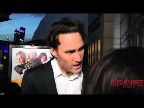 Callan Mulvey at the LA Premiere of Kill Me Three Times #KillMeThreeTimes Interview
