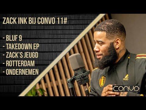 ZACK INK BIJ CONVO (#11) OVER BLUF 9, TAKEDOWN EP, ROTTERDAM-OOST EN ONDERNEMEN