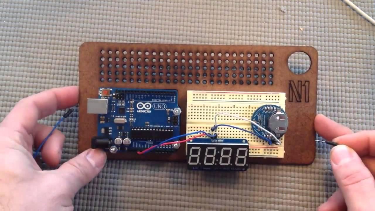 Arduino for beginners building a digital clock doovi