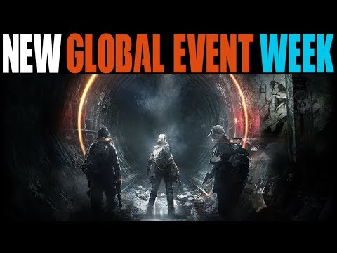 THE DIVISION - NEW GLOBAL EVENT WEEK, 1.8.1 PTS & MORE! (STATE OF THE GAME HIGHLIGHTS)