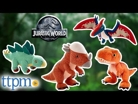 Jurassic World Fallen Kingdom Plush Dinosaur Tyrannosaurus Stuffed Animal