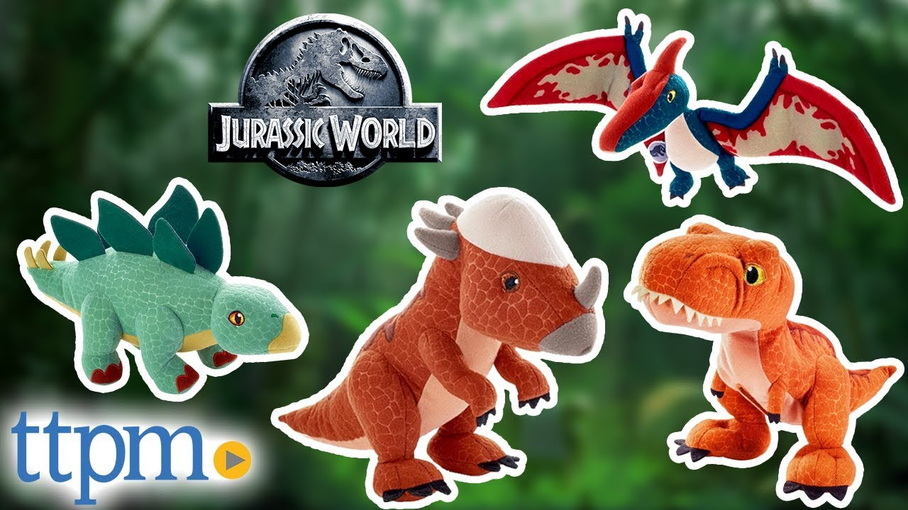 Aurora Monkey Stuffed Animal, Jurassic World Dinosaurs T Rex Pteranodon Stegosaurus Stygimoloch Stiggy Plush Mattel Toys Youtube