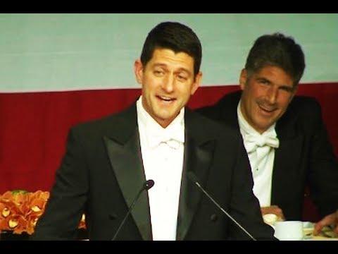 Paul Ryan Roasts Trump At Private Dinner