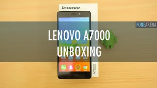 Lenovo A7000 Unboxing