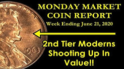 Collectors Paying 500% More For Modern Coins Since 2015! - Monday Market Report