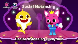 Social Distance Song | 5 Steps on Social Distancing | Pinkfong Songs For Children