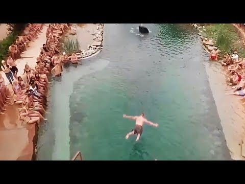 JUMP INTO WATER GONE WRONG fails pt.8 [FailForceOne]