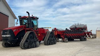 Bringing Home the New Case IH 500 Rowtrac Quad and 2160 Bean Planter Episode 54