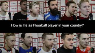 The life as a Floorball player in a top nation
