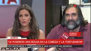 Baradel denuncia el secuestro y la tortura de una docente