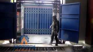 Шахтный грузовой подъемник: вид изнутри(, 2015-10-07T07:12:08.000Z)