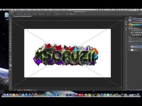 TUTORIAL-COME FARE UN BG CON CINEMA 4D E PHOTOSHOP.