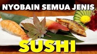 NYOBAIN SUSHI SEMUA IKAN ! Kerapu, Bass, Snapper, dll.