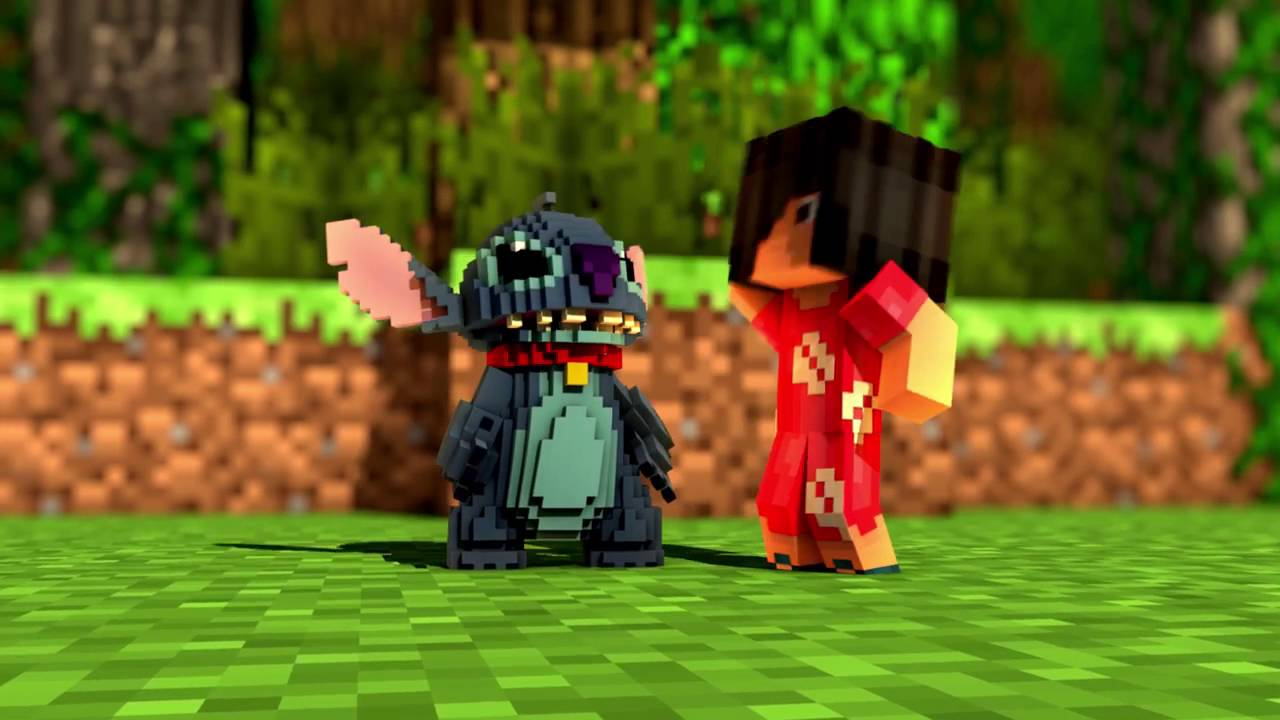 Minecraft Parody LILO STITCH! Minecraft Animation YouTube