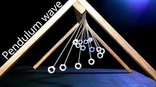 How To Make A Pendulum Wave (Science Experiment / Physics Toy)
