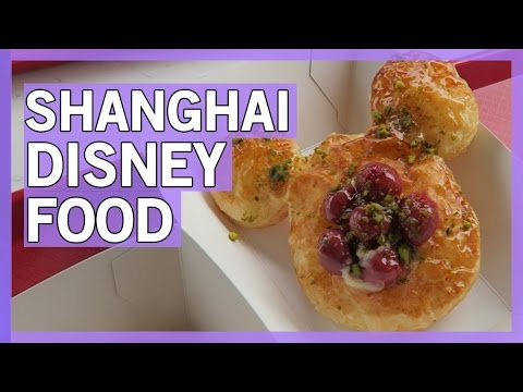 Shanghai Disneyland Food- Grand Opening 2016