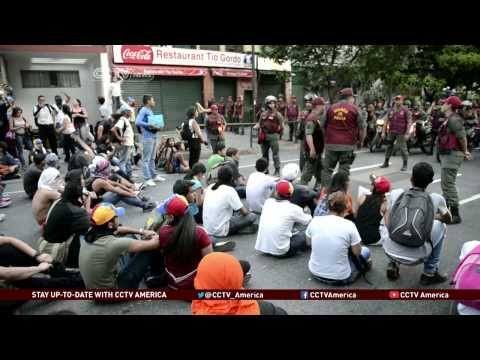 Tension in Venezuela as Violence Erupts