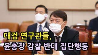 [성창경TV] 대검 연구관들, 윤석열 감찰 반대 집단행…
