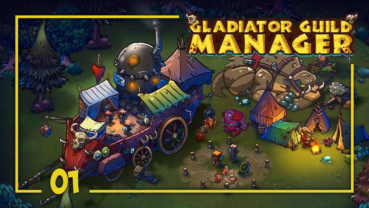 Download Por la GLORIA  y el VICIO - GLADIATOR GUILD MANAGER Gameplay Español Ep 1