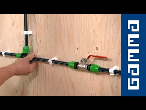 Populair GAMMA - Leiding leggen met tyleen koppelingen - YouTube RR68