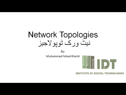 How to define network topologies urdu youtube how to define network topologies urdu publicscrutiny Image collections