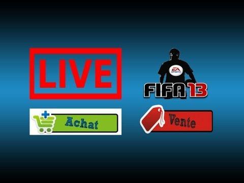 Fifa 13 Ultimate Team - Live Achat Vente #1 - Ultimate Trading Fifa