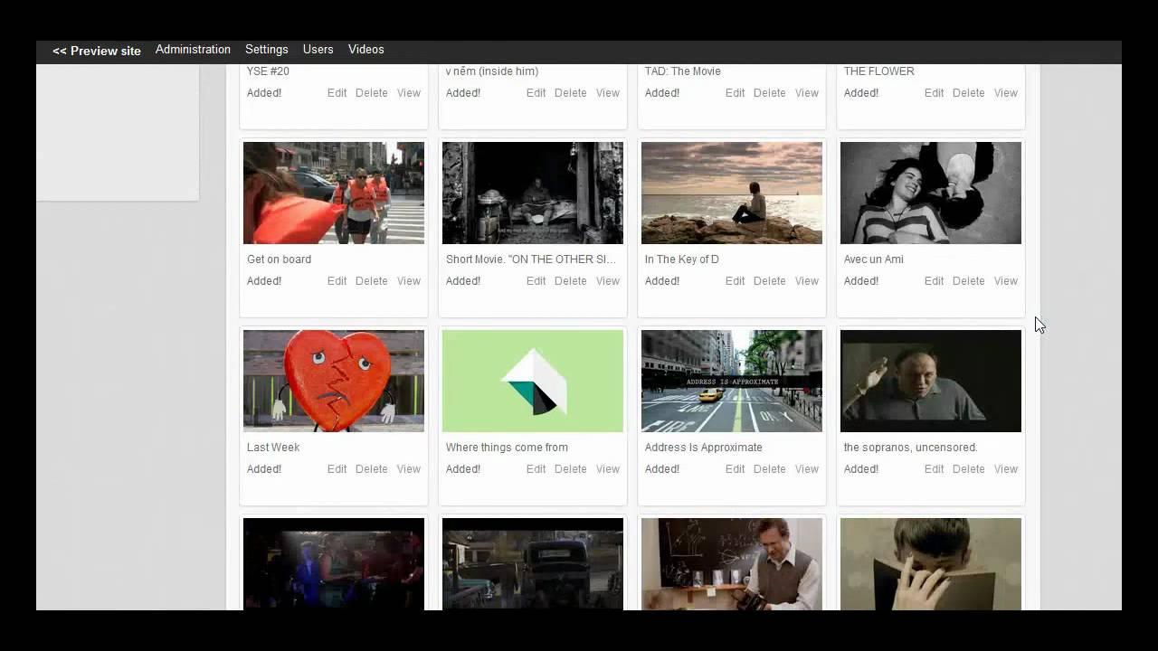 How to get your youtube api key youtube importer - Old Phpvibe V3 1 Vimeo Api Video Importer Grabber Hd