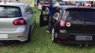 VW Golf R32 Magnaflow vs Milltek