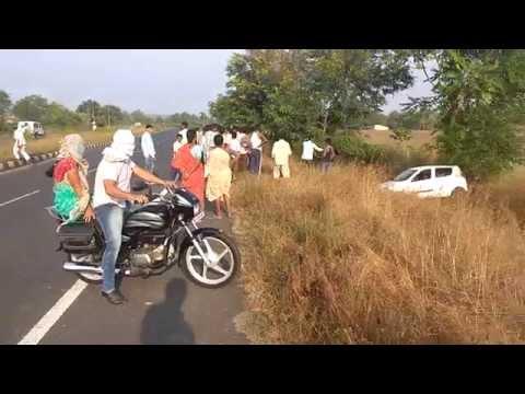 Nagpur Amravati express way accident