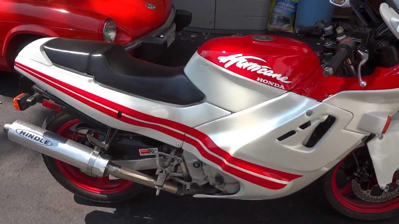 Honda Hurricane Cbr 600 F1 Youtube