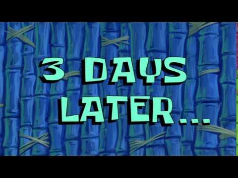 3 Days Later... | SpongeBob Time Card #59